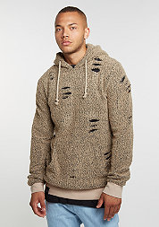 Hooded-Sweatshirt Flake nude/nude
