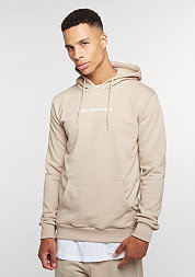 Hooded-Sweatshirt Now nude/white