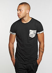 CD Tee Hunter Pocket black/camo/stone