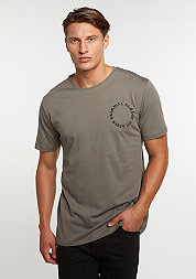 T-Shirt Grave slate/black
