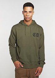 Hooded-Sweatshirt Whitechapel olive/black