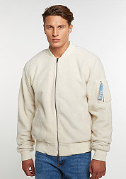 C&S Jacket ALLDD Sherpa Bomber off white sherpa