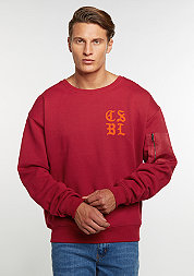 C&S Crew CSBL Tour Oversized red/orange