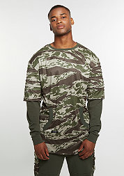C&S Crew CSBL Section Layer tiger camo/olive