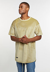 T-Shirt BL No Chill Drop Shoulder Scallop sand velvet