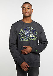 Sweatshirt College Crew NFL Seattle Seahawks graphite