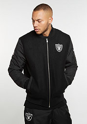 Remix II Bomber NFL Oakland Raiders black