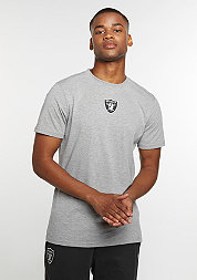 T-Shirt Supporters NFL Oakland Raiders light grey heather