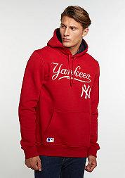 Hooded-Sweatshirt MLB New York Yankees scarlet