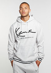 Hooded-Sweatshirt Retro heather grey