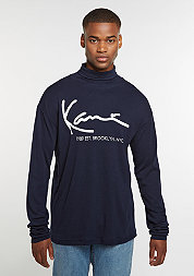 Longsleeve Retro Turtle blue
