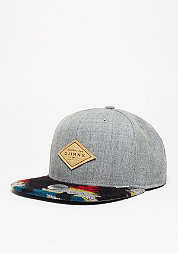 Snapback-Cap 6P SB Felt Aztec grey