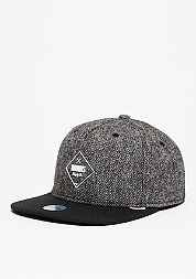 Snapback-Cap 5P SB Rubber Tweed charcoal