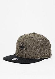 Snapback-Cap 5P SB Rubber Tweed khaki