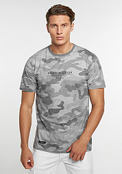 T-Shirt First Division stone camo/mc