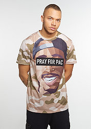 T-Shirt Pacasso desert camo/mc