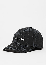 Baseball-Cap BL Curved Cap Series black camo/white