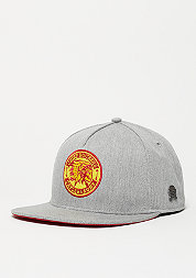 Snapback-Cap CL CR heather grey/red/yellow