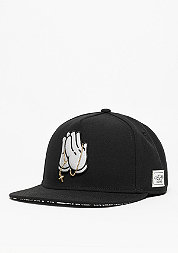 Snapback-Cap WL Cap Pray For Classic black/white