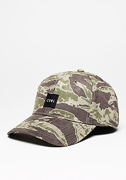CSBL Section Curved Cap tiger camo/black/white