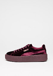 Schuh Creeper Velvet royal purple/royal purple
