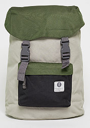 Rucksack Hook olive/light grey/caviar