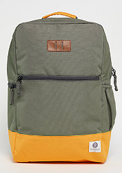 Rucksack Neville army/orange