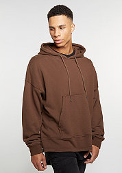 Hooded-Sweatshirt Cropped Hoddy brown