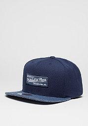 Snapback-Cap Melange Infill navy