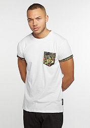 T-Shirt Dragon Pocket white/multi