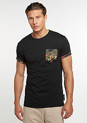 T-Shirt CD Dragon Pocket black/multi