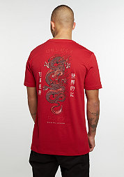 T-Shirt Dragon red/multi