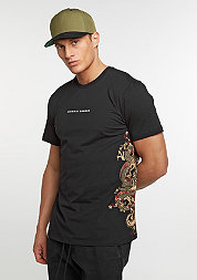 T-Shirt Fire black/multi