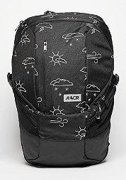 Rucksack Sportspack Weatherman black/white