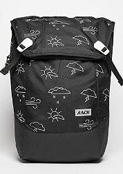 Rucksack Daypack Weatherman black/white