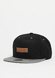 Snapback-Cap Prime black/grey