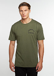 T-Shirt Born Olive Night/Black