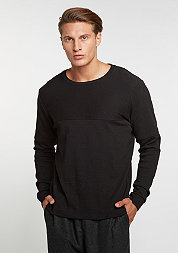 Sweatshirt Rib Crew black
