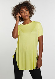 T-Shirt Long Rib yellow