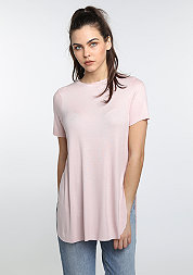 T-Shirt Long Rib rose