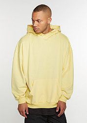 Hooded-Sweatshirt Oversized yellow