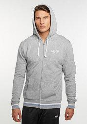 College Zip-Hoody grey