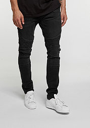 Slim Fit Biker black washed