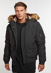 Winterjacke Hooded Heavy Bomber Jacket black