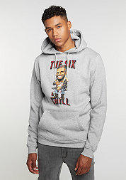 Hooded-Sweatshirt  And Chill heather grey