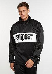 Sweatshirt Block Troyer black/white/black