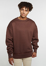 Sweatshirt Oversized brown