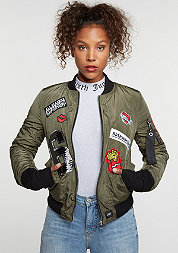 Bomber Patch khaki