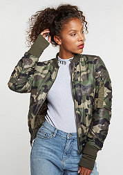 Camouflage Bomber green