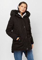 Bomber Fake Fur black/black